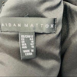Aidan Mattox Dresses - Aidan By Aidan Mattox Illusion Fit-and-Flare Dress